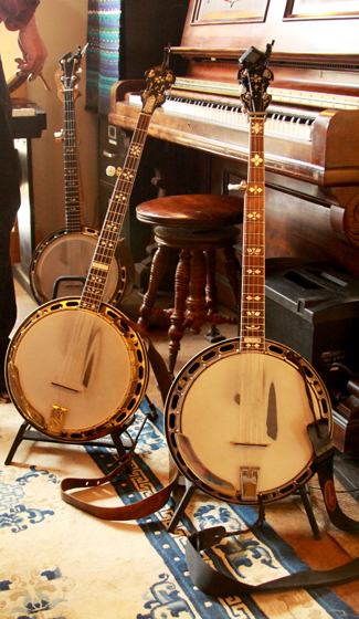 Some of Eric's instruments....